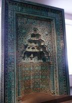 Mihrab from the Beyhekim-Mosque , Konya / Anatolia, 13th century