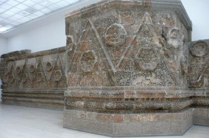 Mshatta Facade 8th century AD, Pergamon Museum