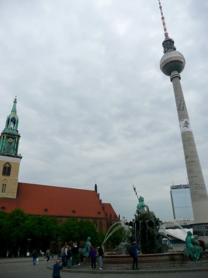 St Marys Church & Fernsehturm
