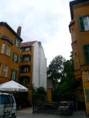 Missing House Monument, Grosse Hamburgerstrasse