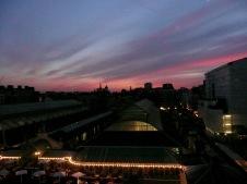 Sunset over Covent Garden