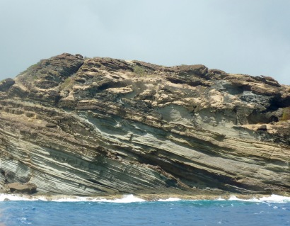 Rock formations near English Harbour