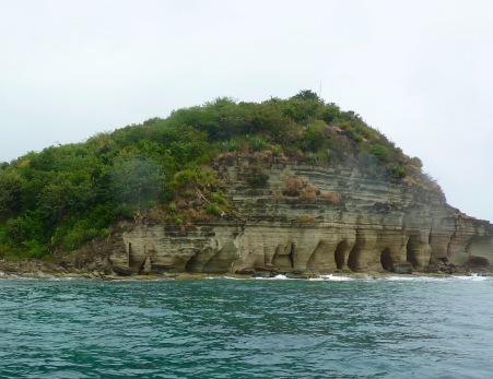 Pillars of Hercules Rock Formation, Freemans Bay