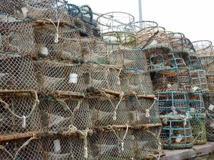 Lobster pots, Brixham