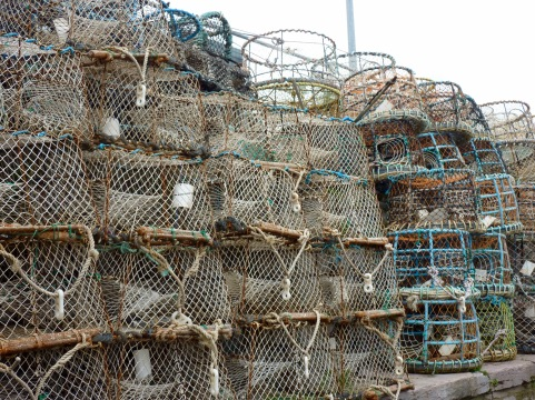 Lobster pots, Brixham