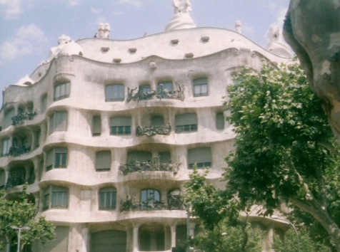 La Pedrera, Gaudi, apologies for poor photo quality but this was taken many years ago!