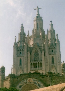 Barcelona Cathedral, please excuse the photo quality, this was a long time ago!