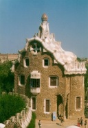 Gingerbread House, Gaudi's Parc Guell