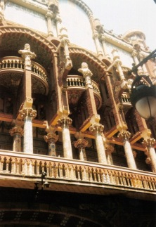 Palau de la Musica Catalana, apologies for bad photo quality but this one was a long time ago!