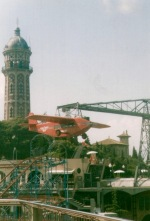 Water Tower, Tibidabo and Amusement Park