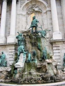 Matthias Fountain, Buda Castle