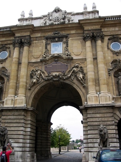 Buda Castle Entrance Gate