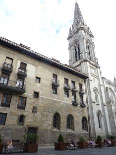 Bilbao Cathedral, Plaza de Santiago