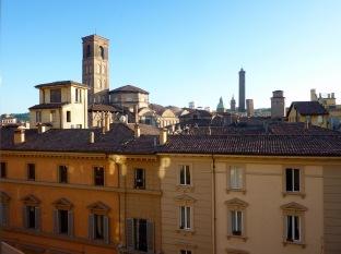 View over Bologna from Teatro Communale di Bologna