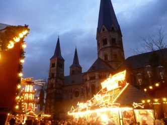 Bonn Cathedral & Christmas Market