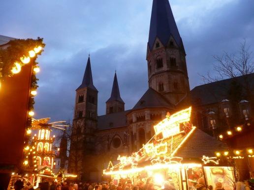Bonn Cathedral & Christmas Market