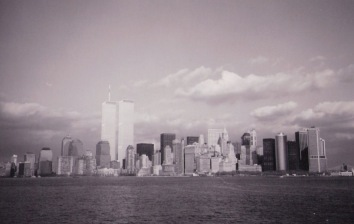 New York skyline from past trips