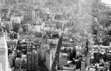 Manhattan - loving the views from the Empire State Building