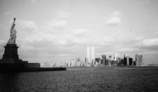 Statue of Liberty and New York skyline from past trips