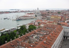 View from St. Mark's Basilica Campanile/ Bell Tower