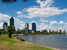 Beautiful Perth - would love to work in an office block if this was my view!