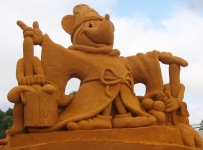 Sand sculpture festival with a Disney theme! Melbourne