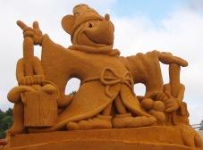 Sand sculpture festival with a Disney theme! Melbourne