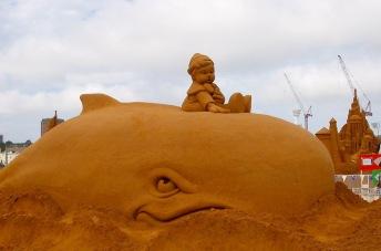 Sand sculpture festival, Melbourne