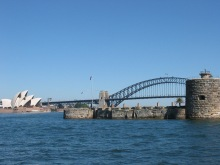 Sydney Opera House, Sydney Harbour Bridge, Fort Dennison